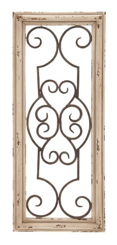 Deco 79 52732 Wood Metal Wall Panel, 25