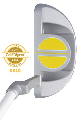 Paragon Rising Star Kids Junior Putter Ages 5-7 Yellow/Left-Hand (Left Handed Golf Clubs For 4 Year Old)