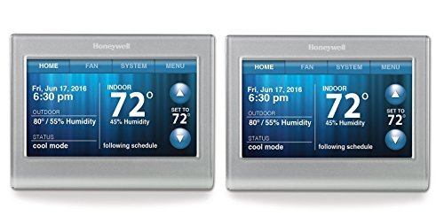Honeywell RTH9580 Wi-Fi Touchscreen Smart Thermostat - 2 pk (Honeywell Access Control)