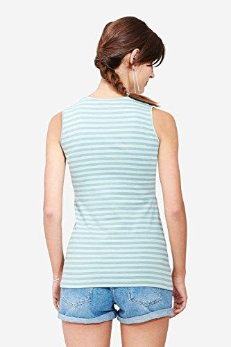 Milker - top d'allaitement Nan aquamarine stripe (ois) taille S