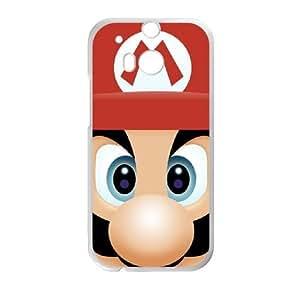 HTC One M8 Phone Case White Super Mario Bros TH6GH575853