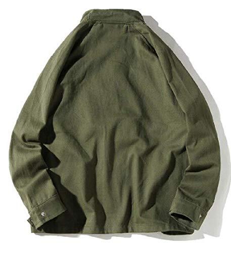 Plein Taille Vêtements Homme small Kangqi Léger Army En Hommes vent couleur Green Manteau Coupe Pour X De Air 8wSdxFqZS