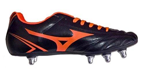 MIZUNO MONARCIDA RUGBY SI R1GA177054 Scarpe da rugby uomo nero-arancio