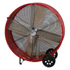 MaxxAir BF30DD REDUPS 30-Inch Direct Drive Commercial Fan, Red by Maxxair