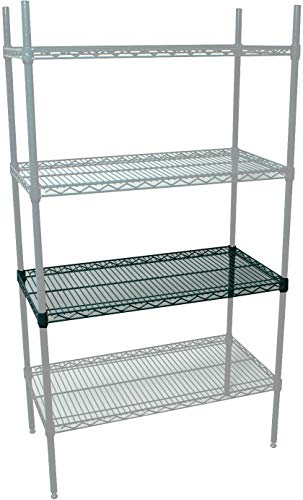 Johnson Rose 039-21848 Shelf, Wire, (NSF), Green Epoxy, 18