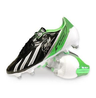 Luis Suarez Hand Signed Adidas F50 Football Boot - Green - Autographed  Soccer Cleats at Amazon s Sports Collectibles Store 02157a282