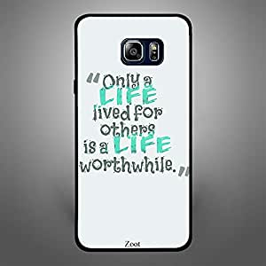 Samsung Galaxy Note 5 Only Life Lives for others is life worth while