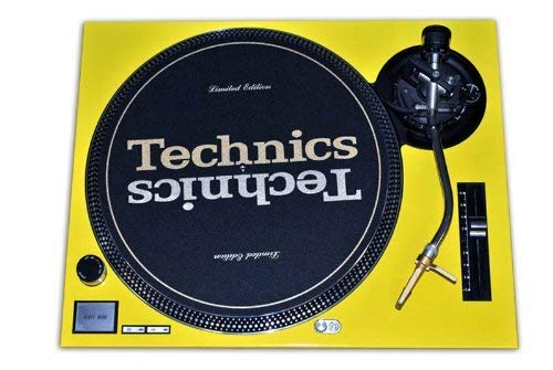 Technics Yellow Face Plate for Technics SL-1200 / SL-1210 MK2 - Faceplate Turntable