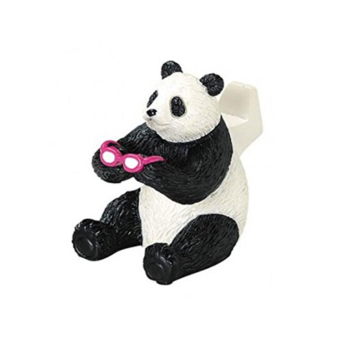 Comolife Cute Panda Eyeglasses Holder , Size : W1.56 x L2.26 x H2.34 - Glasses Panda With