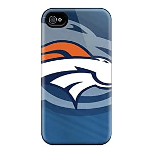 Iphone 4/4s Case Slim [ultra Fit] Denver Broncos Protective Case Cover