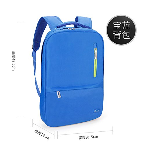 LMDSG Backpack new male Korean casual fashion travel backpack student schoolbag computer bag blue VQOSDhJWG