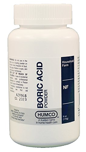 HUMCO HOLDING GROUP 303950303963 Boric Acid Powder, 6 oz.