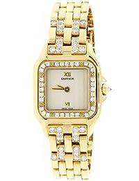Panthere 18K Yellow Gold Factory Diamond 22mm Ladies Watch 1280 2