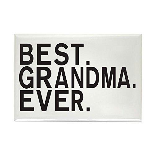 Rectangle Magnet Best Grandma Granny Grandmother Ever