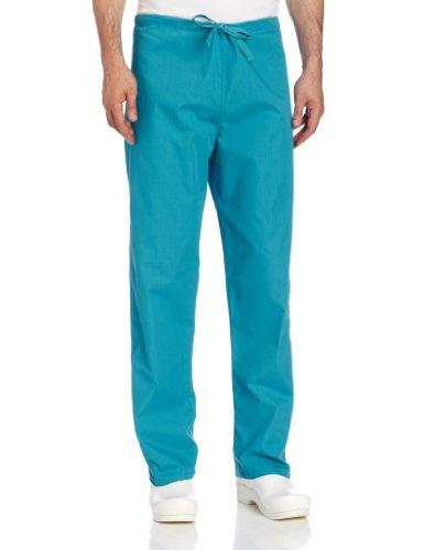 - Landau Comfort Stretch One-Pocket Reversible Drawstring Scrub Pant, Teal, Medium