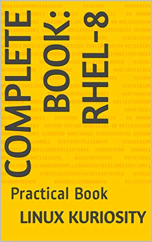 Amazon com: Complete Book: RHEL-8: Practical Book eBook: Linux