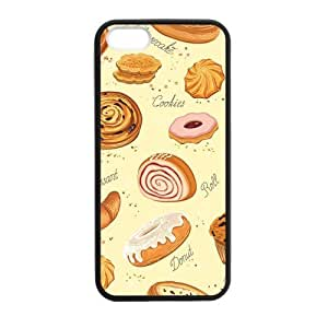 Cake Bakery Case cover for iPhone 5 5s protective Durable black case