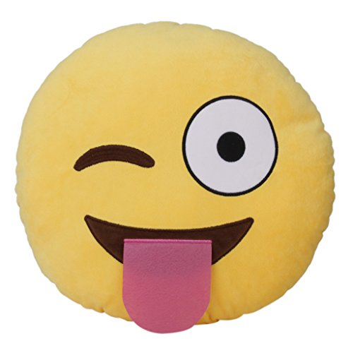 Leegoal Smiley Emoticon Cushion Stuffed