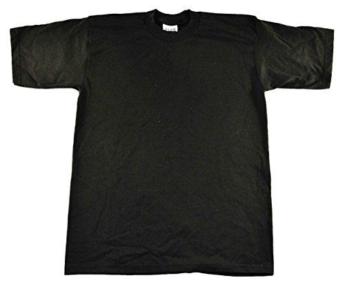 Pro Club Men's Pack of 6 Heavyweight Cotton T-shirt 3xlarge Tall (Black)