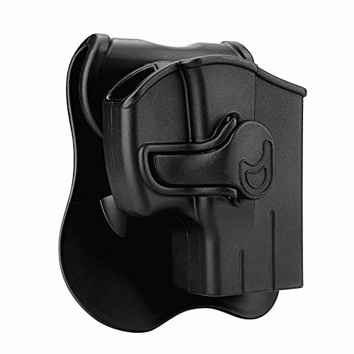CYTAC Taurus PT111 G2 Holsters, OWB Holster for Taurus G2C G3 9MM Millennium G2 PT132 PT138 PT145 PT745(NO PRO), Tactical Outside The Waistband Belt Holsters with 360°Adjustable Paddle - Right Hand