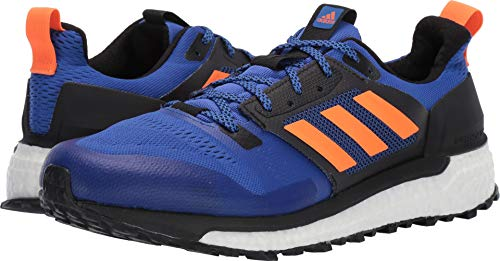 (adidas outdoor Men's Supernova Trail Hi-Res Blue/Hi-Res Orange/Black 14 D US)