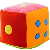 RJZDSCS Creative Large Dice Dice Sieve Hold Pillow Children