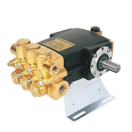 (Hypro 2230B-P PowerLine Plus Duplex Plunger Pump with Solid Shaft and Forged Brass)
