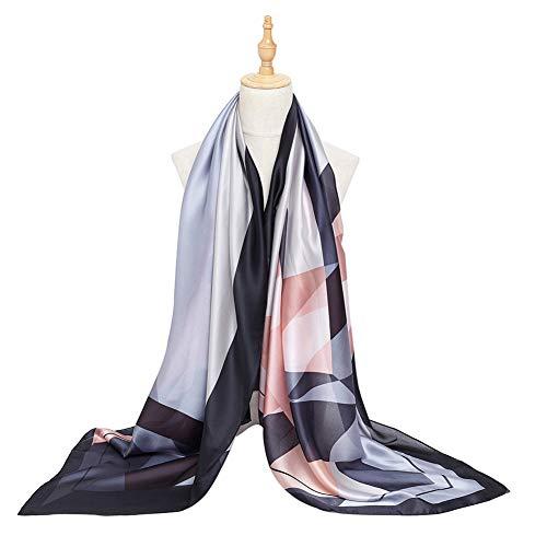Bellonesc Women Scarves Fashion Lightweight Sunscreen 100% Silk Scarfs for Women ()