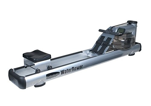 WaterRower 500-S4 Commercial M1 LoRise Rowing Machine in Steel - Water Rower - Water Rowing Ergometer