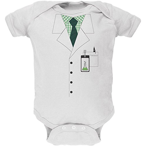 Old Glory Scientist Costume Baby One Piece - 9-12 -