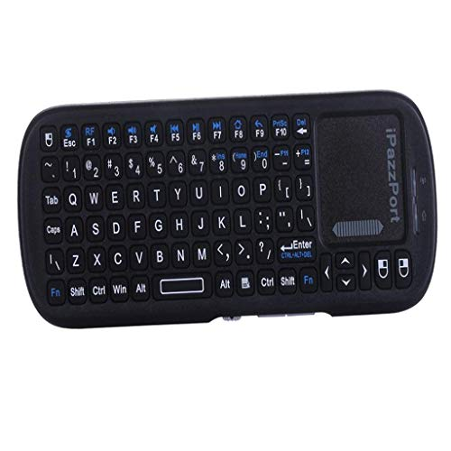 Homyl 2.4Ghz Full-Size Ergonomic Wireless Keyboard for Desktop PC Linux Windows Mac iOS Google Android TV