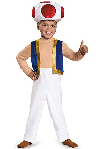 (Toad Toddler Costume, Small (2T))