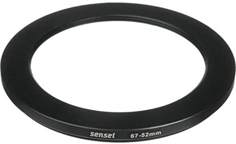 52 MM filtro adaptador step-down adaptador adaptador filtro step down 67-52 67 mm