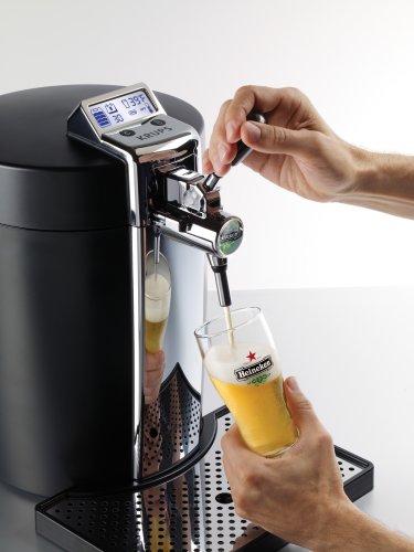 Krups Beertender B95 Dispensador de cerveza de barril - Tirador de cerveza (300 x 490 x 450 mm, 70 W, 220V; 50Hz, LCD): Amazon.es: Hogar