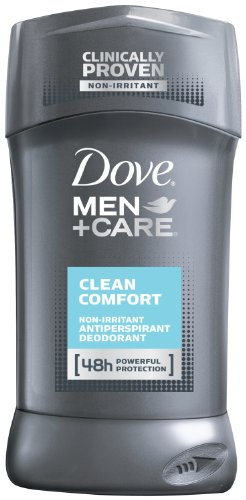 Dove Men + Care, non irritant antisudorifique, Comfort Clean, 2,7 once (Pack de 3)