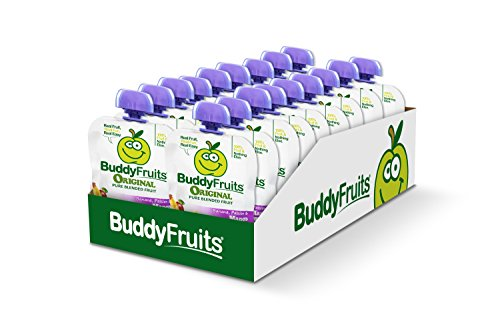 Buddy Fruits Mango / Passion Fruit / Banana, Pure Blended Fruit To Go, 3.2-Ounce (Pack of 18) by Buddy Fruits (Image #2)