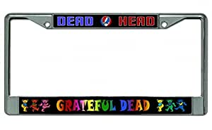 Amazon Com Grateful Dead Dead Head Chrome License