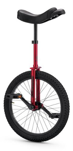 Torker Unistar LX Unicycle 20'', Red Shimmer