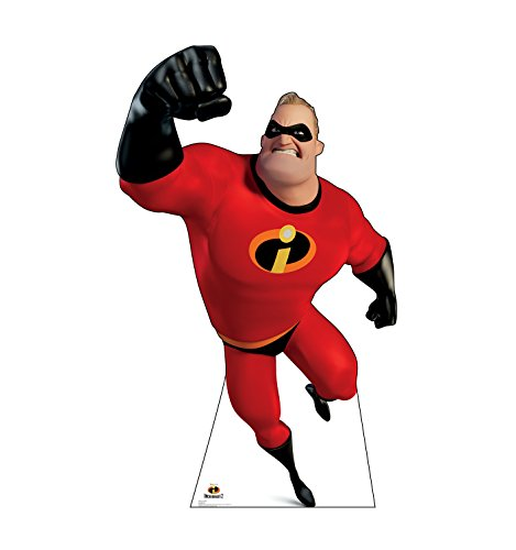 Advanced Graphics Mr. Incredible Life Size Cardboard Cutout Standup - Disney's Incredibles 2]()
