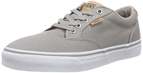 Vans - Bishop, Zapatillas Hombre Gris (washed Twill/ice Gray/blanket)