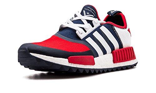 Adidas Wm Nmd Spår Pk Kollegialt Marin / Ftw Vit / Ftw