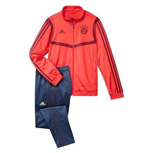 adidas 2019-2020 Bayern Munich PES Tracksuit (Red)