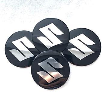 Amazon.fr   Suzuki Lot de 4 auto-collants bombés pour cache-moyeux de roue,  avec logo Suzuki, 5, 5 cm 77cdc65ba5a
