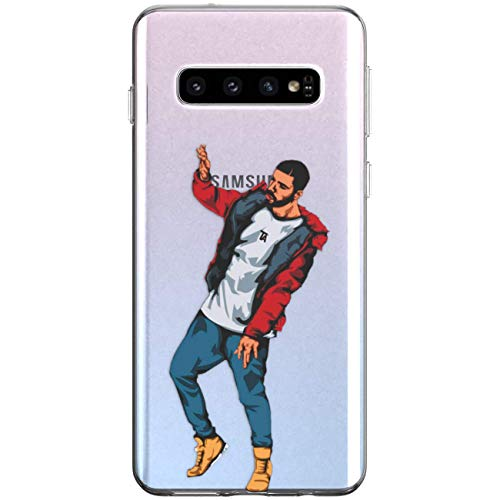 WooWie TPU Silicone Phone Case for Samsung A80 A70 A60 A50 A40 A30 A20e A10 A9 A8 A7 Drake Anti Fingerprint Design Famous Woman Girls Musician Rap Full Body Slim Fit Artwork Scratch Resistant Meme
