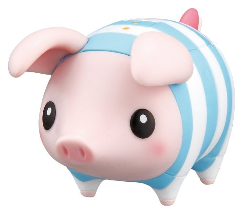 [Ensky 3D Jigsaw Puzzle KM-19 Monster Hunter Poogie Pig Blue 33pcs] (The Best Halloween Costumes Ever Made)