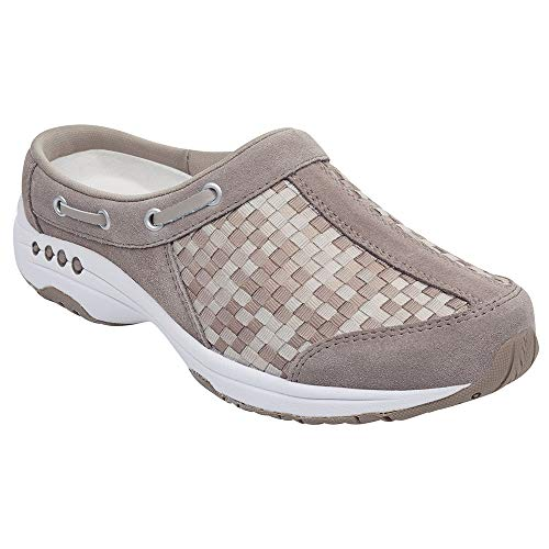 Easy Spirit Women's, Travelport Slip On Sneakers Taupe Multi 6 W -