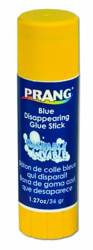 Prang Glue Stick, Large, 1.27 Ounces, Purple (15091) ()