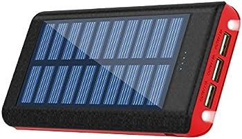 Kenruipu Q90-5 25000mAh Solar Charger Portable Power Bank