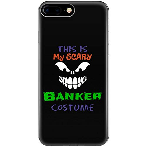 This is My Scary Banker Halloween Costume - Phone Case Fits iPhone 6 6s 7 8 -