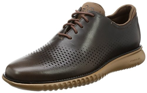 Cole Haan Mens 2.zerogrand Laser Wing Oxford Dark Taupe / Limoges / Rubber
